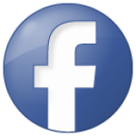 social facebook button blue 128